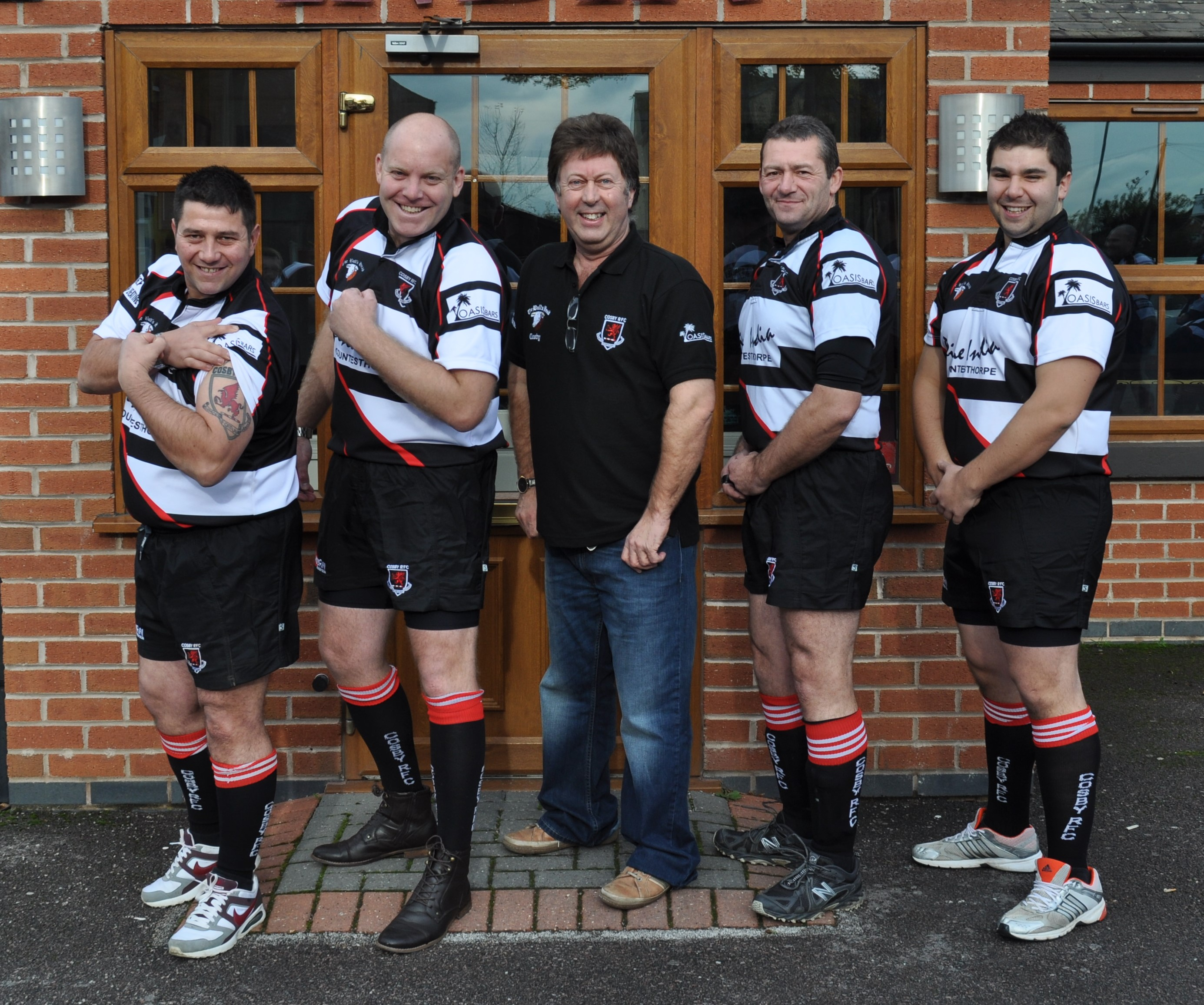 Mobile Bar company sponsors rugby - Oasis Mobile Bars