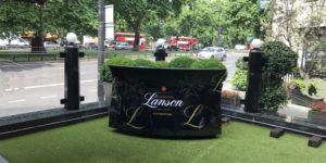 OASIS MOBILE CHAMPAGNE BAR FOR LANSON CHAMPAGNE - Oasis Mobile Bars