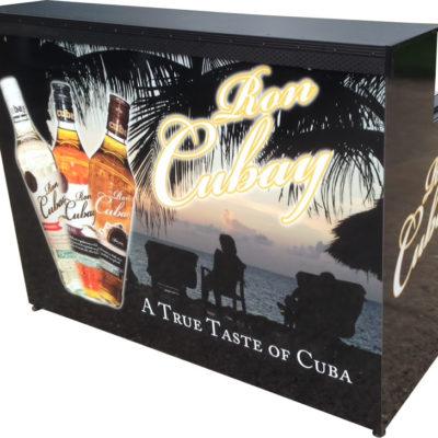 BIAB-Ron Cubay Portable tasting bar