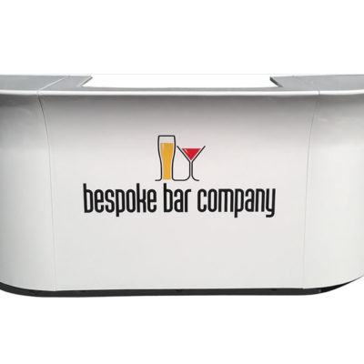 Bespoke Whlte Galaxy Mobile Bar