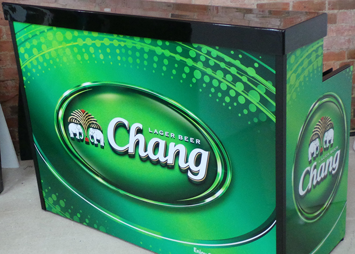 Chang Beer Mobile Bar-in-a-Box
