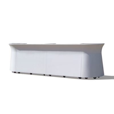 White Portable Large Galaxy Bar