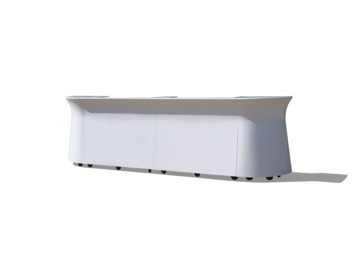 White Portable Large Galaxy Bar