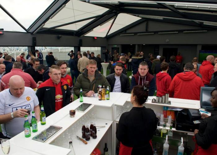 Hotel Football event bar