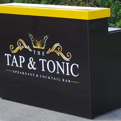 Tap-and-Tonic pop-up bar