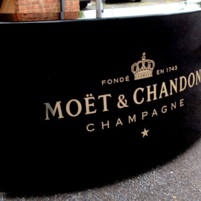 Moet and Chandon Champagne Ocean Mobile Bar