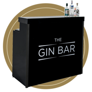 The Black Mobile Gin Bar