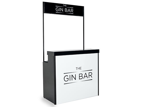 Mobile Gin Bar with Canopy