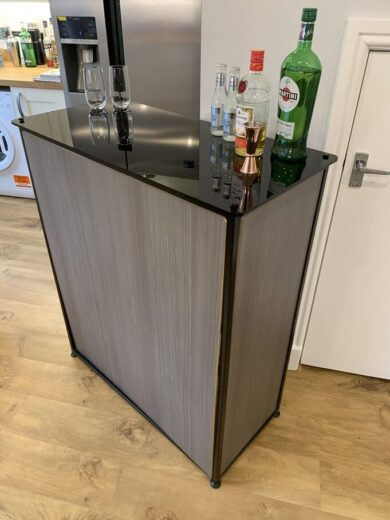 Home Bar, Side and Front